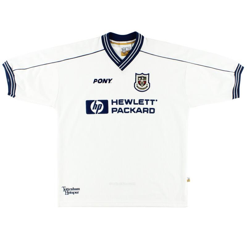 1997-99 Tottenham Pony Home Shirt Y for sale