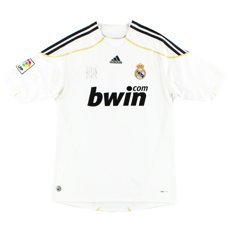 2009-10 Real Madrid Home Shirt M for sale E84352