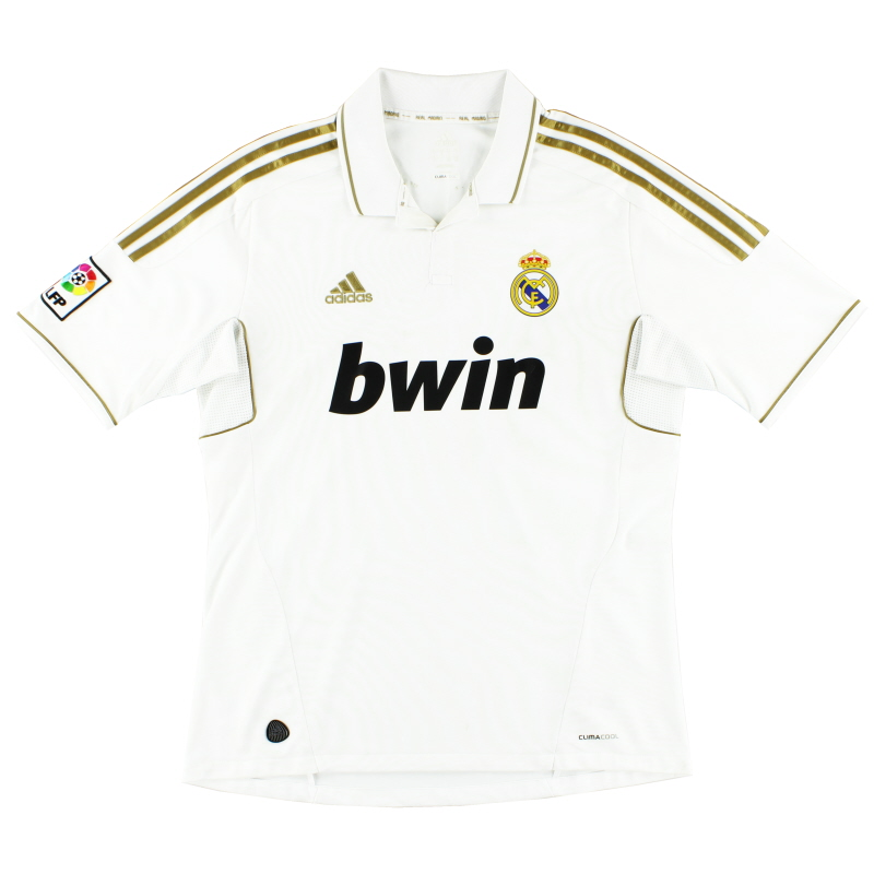 2011-12 Real Madrid Home Shirt L for sale