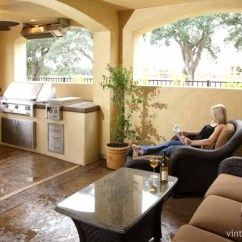 Patio Kitchen Islands Carts Outdoor Kitchens Galore Photo Gallery There Is A Nice Bar Area With Stools Which Provides Extra Functionality For This To Entertain Small Groups