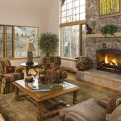 Living Room Decorating Ideas With Stone Fireplace Cozy Chairs For 44 Rooms Cabins Beautiful Fireplaces Cost Is Another Item To Think Through When In The Planning Stages Most Of All Simply Enjoy Beauty That Stones Bring Into