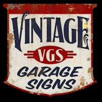 About Us, From Vintage Garage Signs