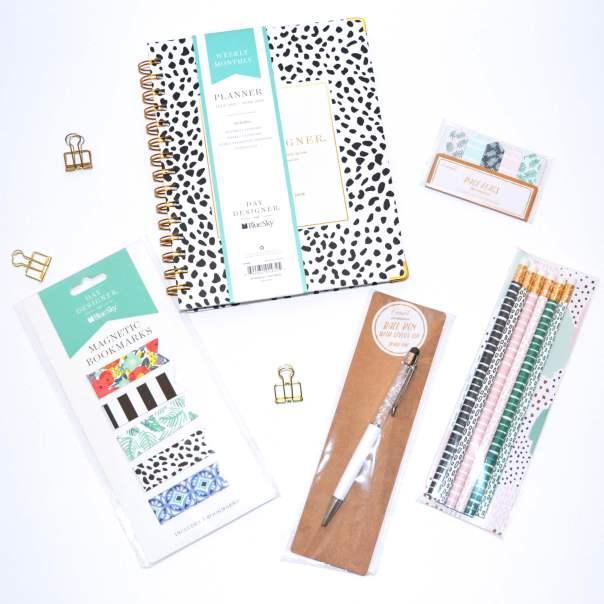 Daydesigner planner & Target dollar spot craft suppliies