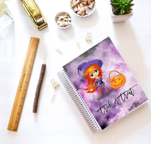 Cute Witch Erin Condren Covers | free printable for personal use