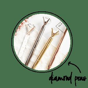 planner diamond pens