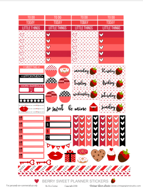 planner stickers printable pge 2