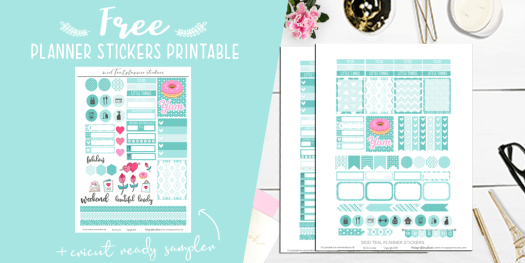 teal printable, desktop