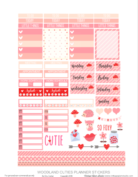 planner stickers printable pge 2