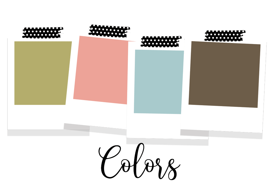 color theme polaroids