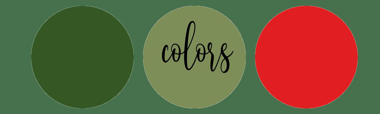 christmas color theme