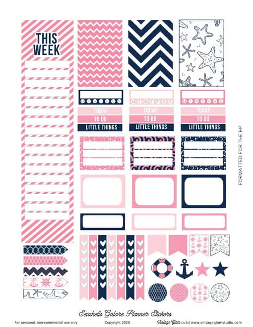 happy planner planner stickers
