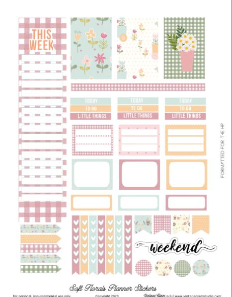 happy planner planner stickers