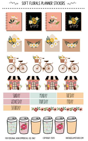 happy planner sticker sheet