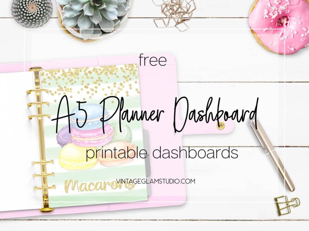 a5 planner dashboard