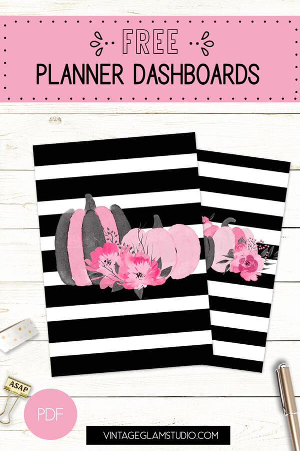 planner dashboards