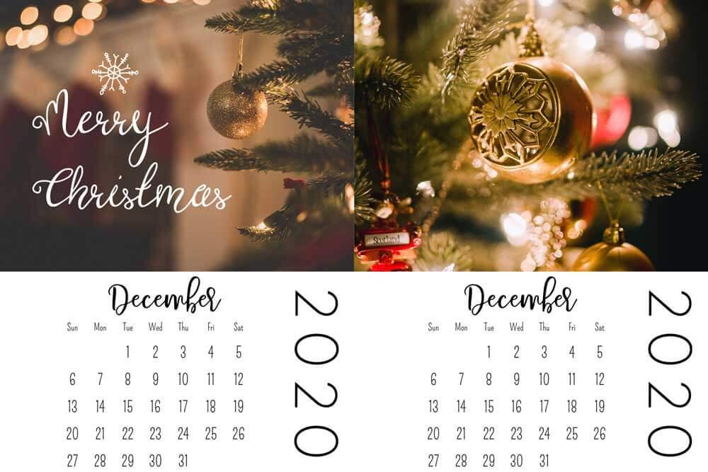 christmas mini calendars