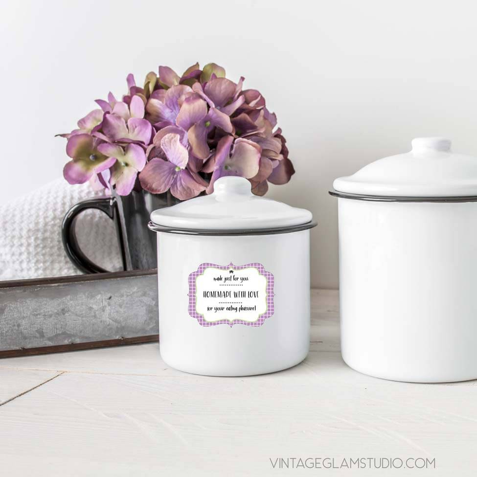 canister food tag mockup