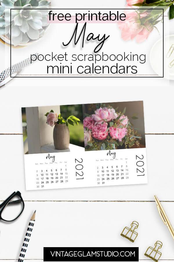 mini calendar May