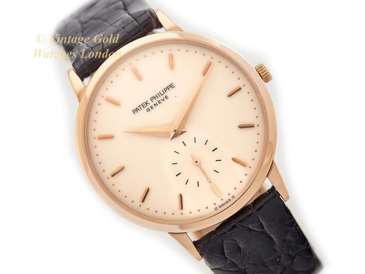 Patek Philippe Calatrava Cal.215 18ct 1975   Vintage Gold Watches