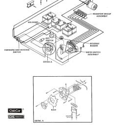 vintagegolfcartparts com rh vintagegolfcartparts com 36 volt club car wiring diagram forward reverse switch wiring diagram [ 1000 x 1341 Pixel ]