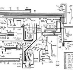 Battery Wiring Diagram For Yamaha Golf Cart 95 Wrangler Radio 36 Volt Get Free Image