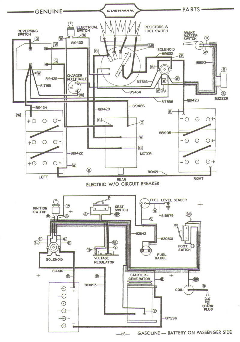 Cushman 36 Volt Wiring Diagram : 30 Wiring Diagram Images