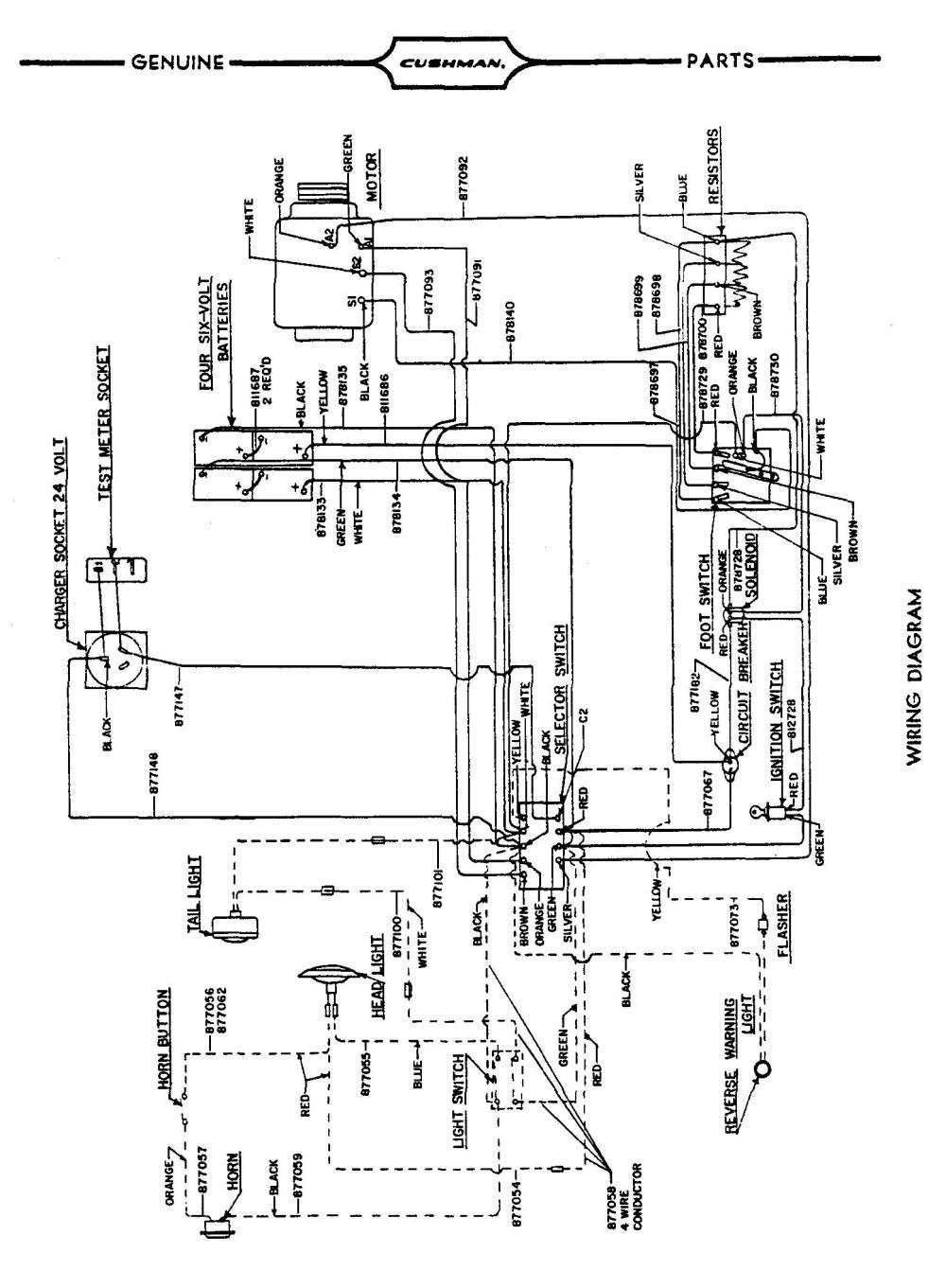 medium resolution of cushman titan wiring diagram wiring diagram centre cushman 48 volt wiring diagram wiring diagram centrecushman 48