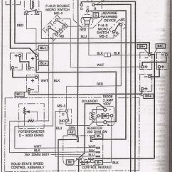 Ezgo 36 Volt Battery Wiring Diagram For Installing A Car Stereo Basic Electric Golf Cart And Manuals