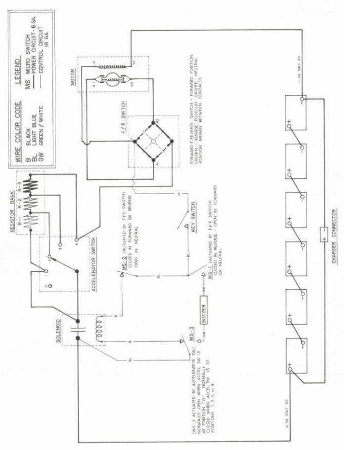 legend golf carts wiring diagram 36 volt  general washing