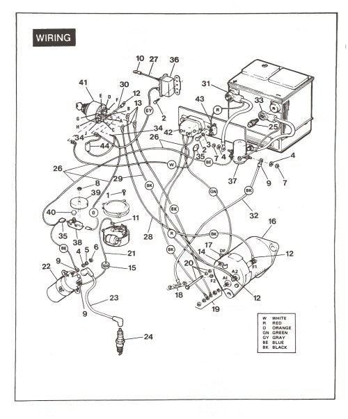 small resolution of vintagegolfcartparts com 1985 ezgo wiring diagram 1989 ezgo wiring diagram
