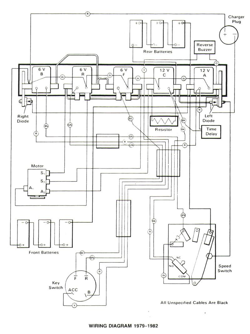 1979 club car wiring diagram