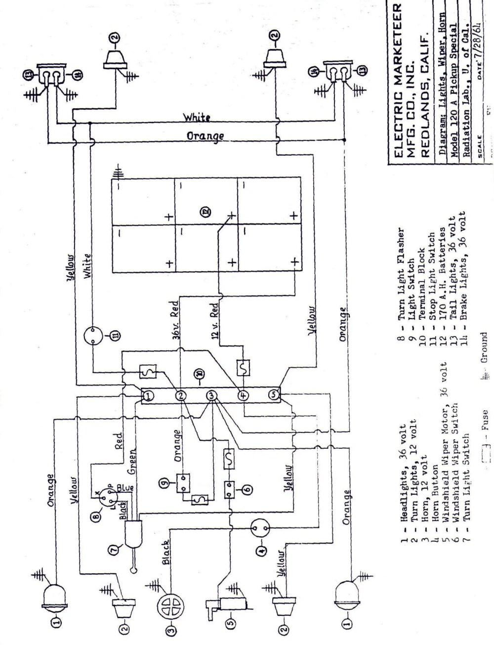 medium resolution of nordskog wiring diagram for a wiring diagramvintagegolfcartparts comnordskog wiring diagram for a 7