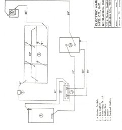 melex electric golf cart 6 volt wiring diagram [ 1604 x 2062 Pixel ]