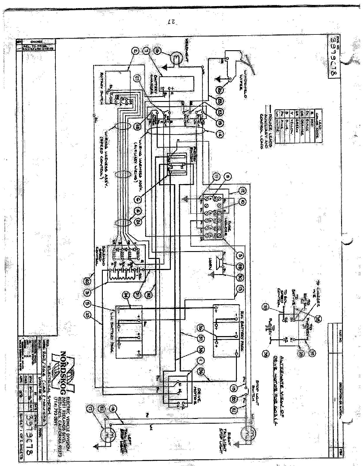 Wire Schematics Ez Go Model 99