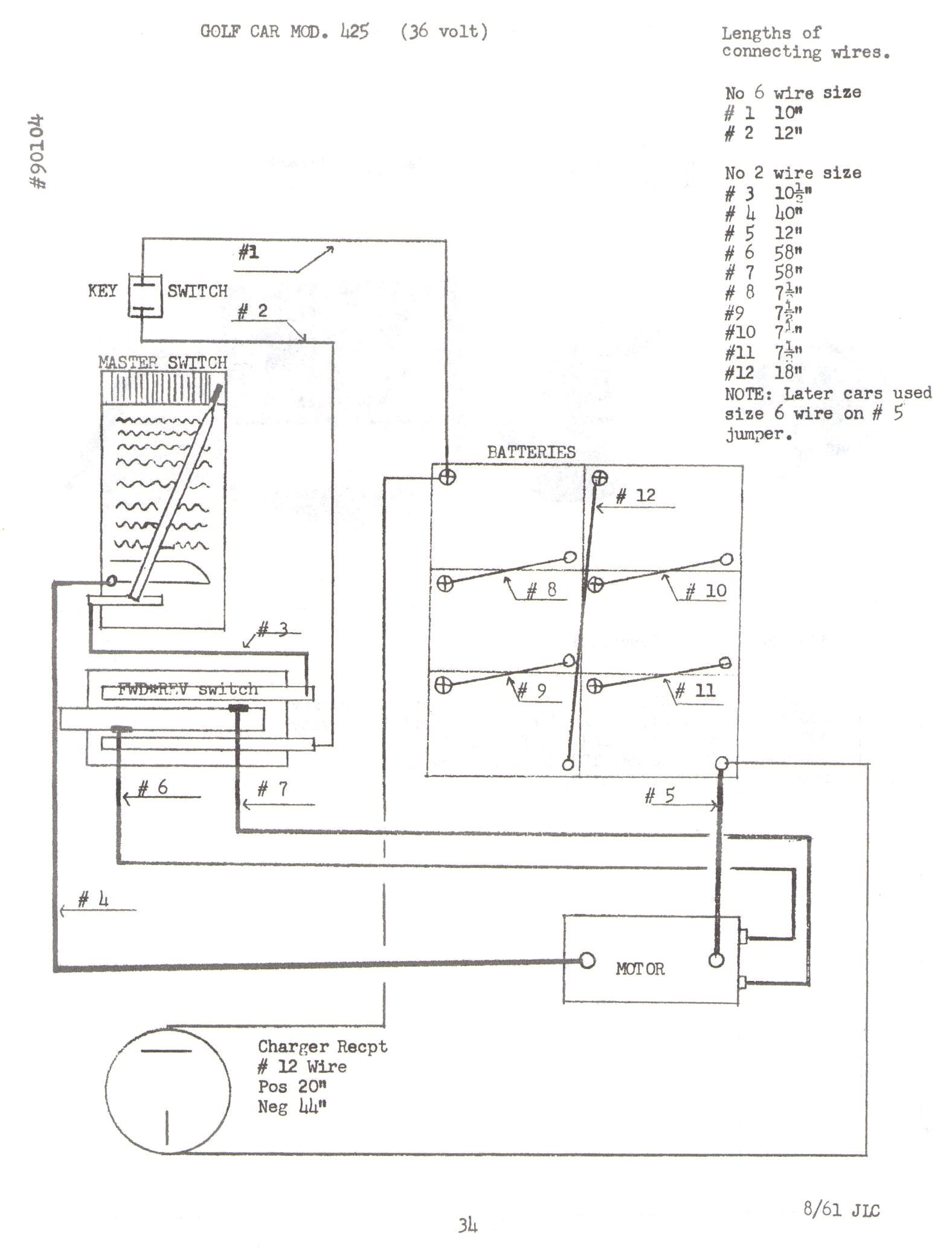 Par Car Battery Diagram 1987 Columbia Wiring 1984 Download