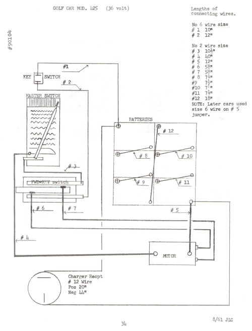 small resolution of western golf cart 36 volt wiring diagram western free