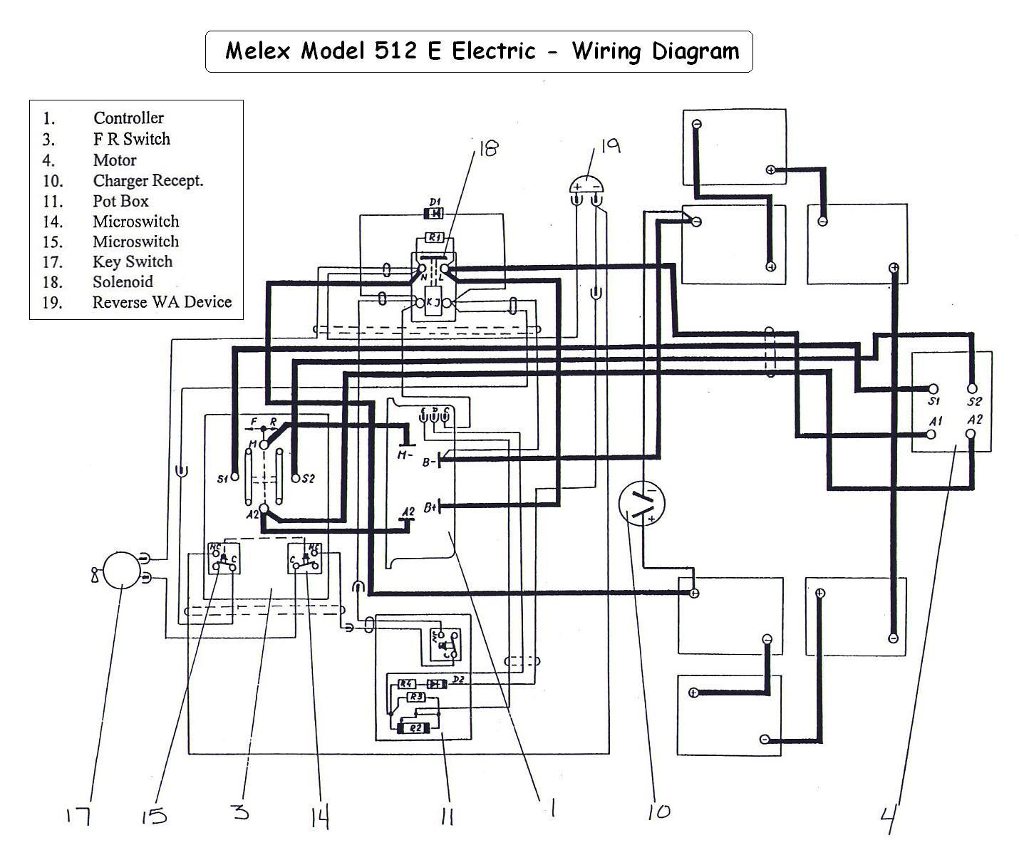 melex 512 wiring diagram