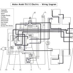 Golf Cart 36 Volt Wiring Diagram Light Fixture Taylor Dunn Parts