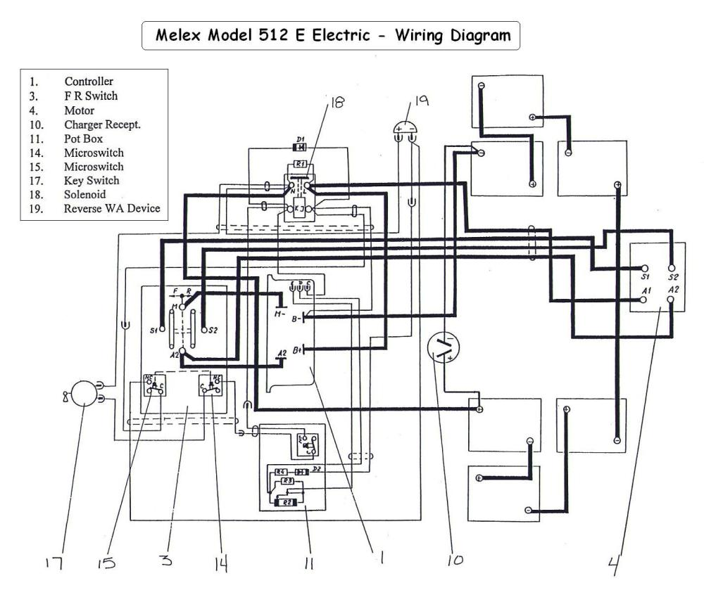 medium resolution of melex electric golf cart 6 volt wiring diagram wiring diagram todays 1995 ez go wiring diagram ez go 6 volt wiring diagram