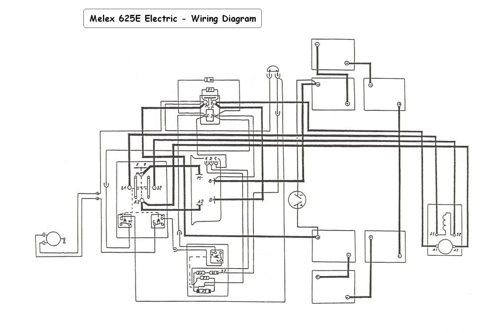 medium resolution of melex battery wiring diagram wiring diagram expert 1999 melex golf cart battery wiring diagram