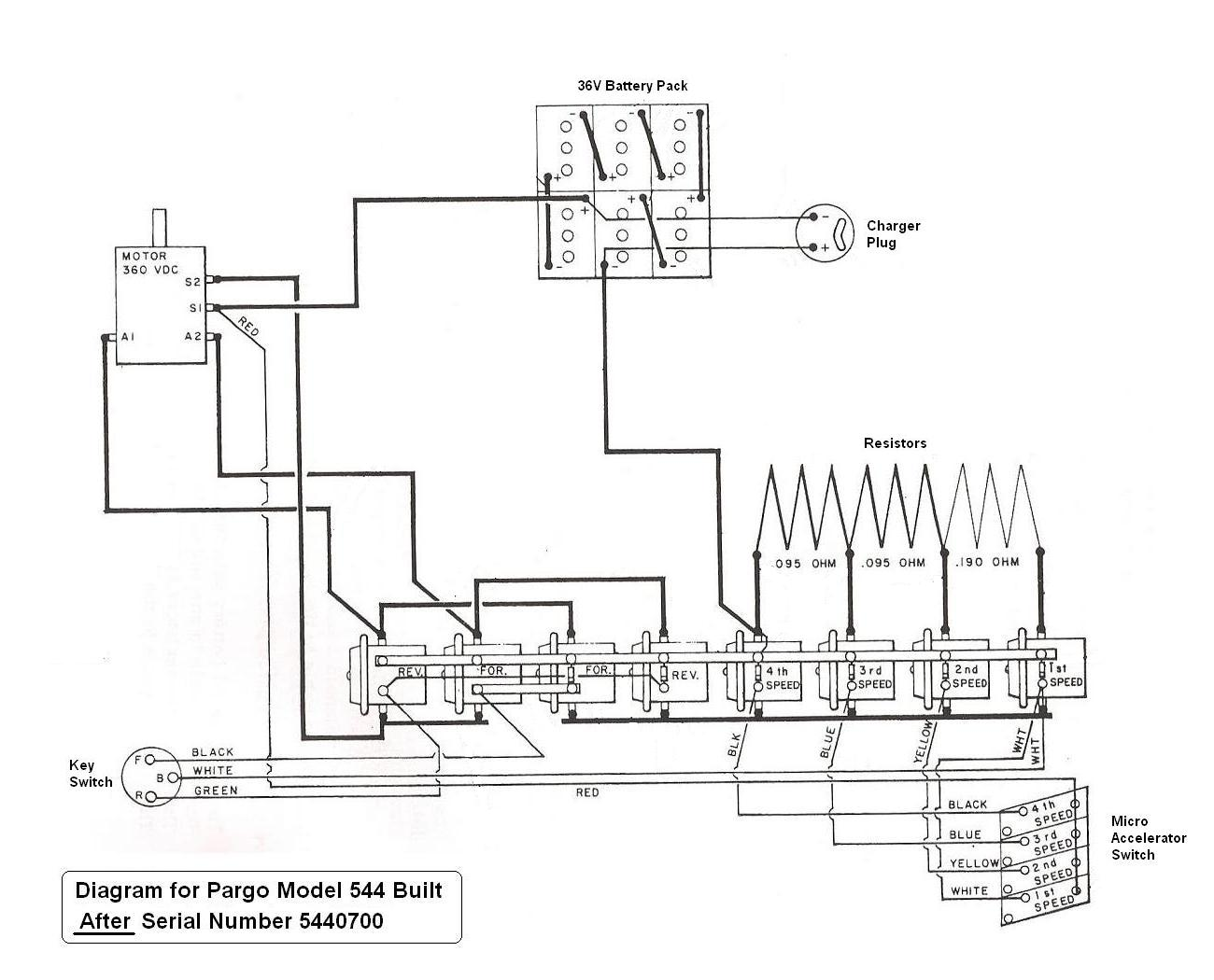 Melex Model 212 Golf Cart Wiring Diagram 36V Golf Cart