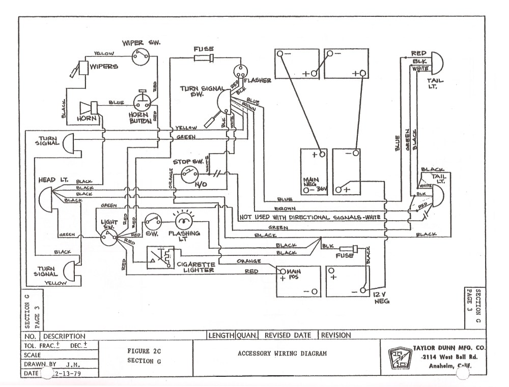 medium resolution of 1999 ezgo wiring diagram