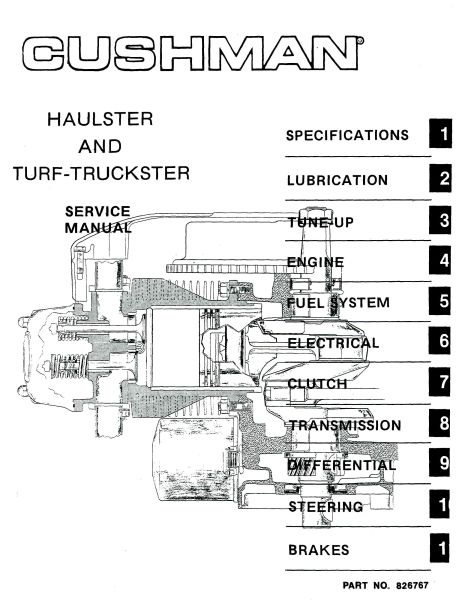 PU33 100 Service Manual '76 '81 Haulster Truckster Vintage