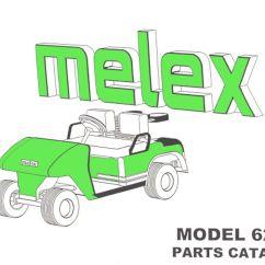 Melex 112 Golf Cart Wiring Diagram Badland Winches 5000 Lb Pu66 130 Parts Manual 625e Vintage Inc