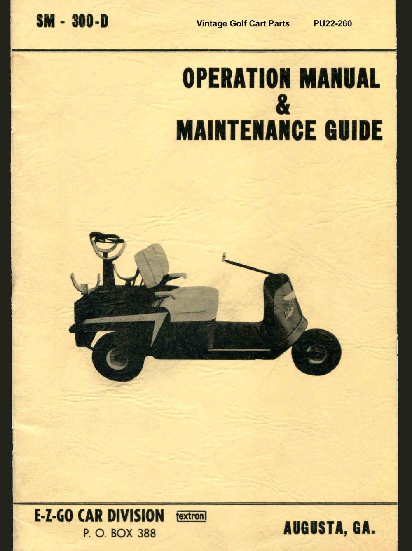 medium resolution of pu22 260 operation maintenance manual
