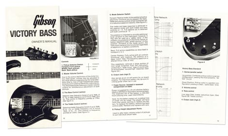 1981 Gibson Victory Bass Owners Manual >> Vintage Guitar