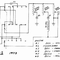 Gibson Guitar Pickup Wiring Diagrams Prestige Remote Car Starter Diagram L6 S Schematics Parts Lists Vintage And Bass Custom Schematic