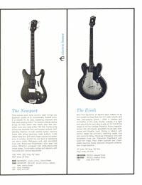 1961 Epiphone 'Guitars, Basses, Amplifiers' Catalogue