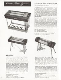 1962 Gibson guitar and amplifier catalogue (part 2)