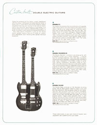 1964 Gibson Electric Guitars catalogue